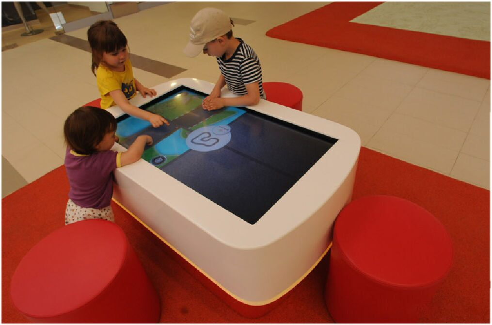 Интерактивный детский стол своими руками 85